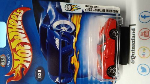 Hot Wheels First Editions Enzo Ferrari 2003-036 (CP11)